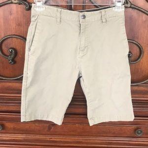 Tan young teen Volcom shorts